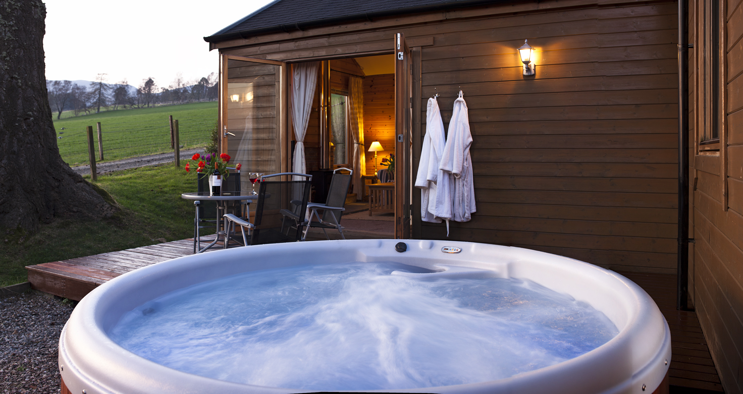 Why choose a hot tub with self catering accommodation