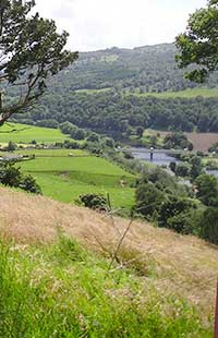 An easy walk with great views of Logierait and River Tay