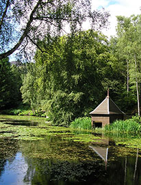 Loch Dunmore is a great wee place to go for an easy short walk in Pitlochry