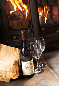 All with cosy wood burners to make sure you enjoy an authentic log cabin holiday experience we have a wood burning stove in all our log cabins.