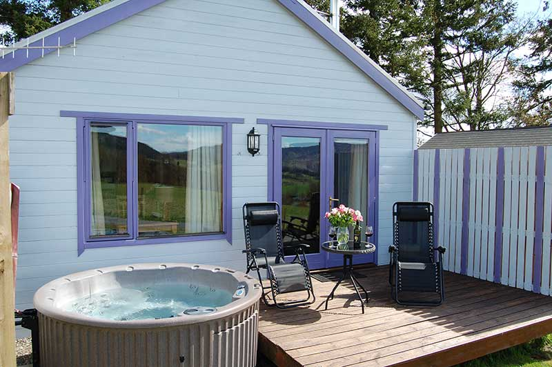 Log Cabins in Scotland holiday lodges with hot tubs in ...